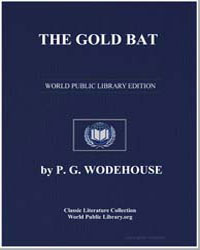 The Gold Bat by Wodehouse, Pelham Grenville