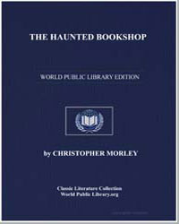 The Haunted Bookshop by Morley, Christopher