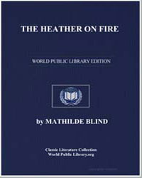 The Heather on Fire by Blind, Mathilde