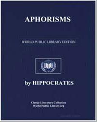 Aphorisms by Adams, Francis