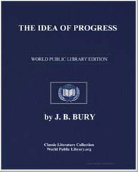 The Idea of Progress by Bury, John Bagnell