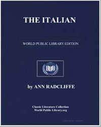 The Italian, Or the Confessional of the ... by Radcliffe, Ann