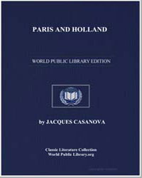 Paris and Holland by Casanova, Jacques