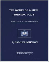 The Works of Samuel Johnson, Volume 6 by Johnson, Samuel