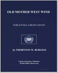 Old Mother West Wind by Burgess, Thornton Waldo