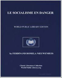 Le Socialisme en Danger by Nieuwenhuis, Ferdinand Domela