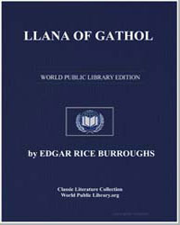 Llana of Gathol by Burroughs, Edgar Rice
