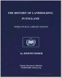 The History of Landholding in England by Fisher, Joseph