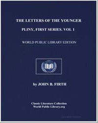 The Letters of the Younger Pliny, First ... by Firth, John B.
