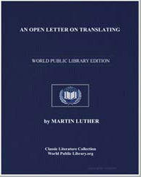 An Open Letter on Translating by King, Martin Luther, Jr., Dr.