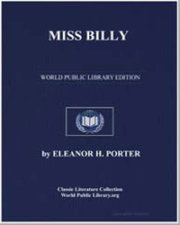 Miss Billy by Porter, Eleanor Hodgman