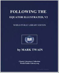 Following the Equator, Illustrated, V2 by Twain, Mark