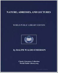 Nature; Adresses, And Lectures by Emerson, Ralph Waldo