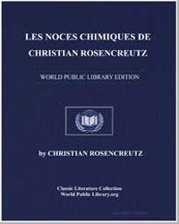 Les Noces Chimiques de Christian Rosencr... by Rosencreutz, Christian