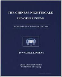 The Chinese Nightingale and Other Poems by Lindsay, Vachel