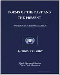 Poems of the Past and Present by Hardy, Thomas