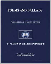 Poems and Ballads by Swinburne, Algernon Charles