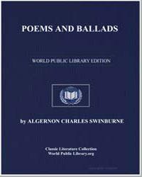 Poems and Ballads by Swinburne, Algernon Charles