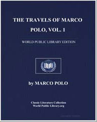 The Travels of Marco Polo Volume 1 by Polo, Marco