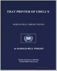 That Printer of Udell's : A Story of the... by Wright, Harold Bell