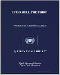 Peter Bell the Third by Shelley, Percy Byssche