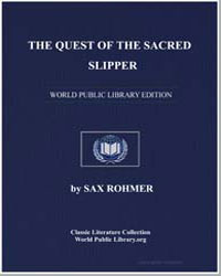The Quest of the Sacred Slipper by Rohmer, Sax