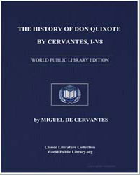 The History of Don Quixote, By Cervantes... by De Cervantes, Miguel