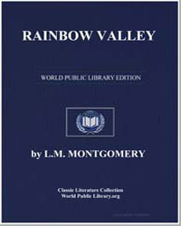 Rainbow Valley by Montgomery, Lucy Maud