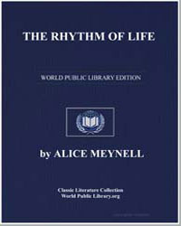 The Rhythm of Life by Meynell, Alice