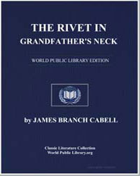 The Rivet in Grandfather's Neck by Cabell, James Branch