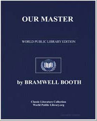 Our Master by Booth, Bramwell