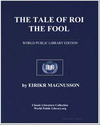 The Tale of Roi the Fool by Magnusson, Eirikr