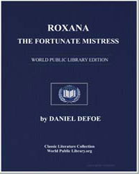Roxana, The Fortunate Mistress by Defoe, Daniel
