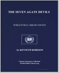 The Seven Agate Devils by Robeson, Kenneth