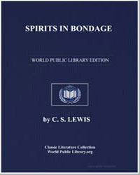 Spirits in Bondage by Lewis, C. S.