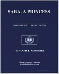 Sara, A Princess by Newberry, Fannie E.