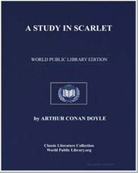 A Study in Scarlet by Doyle, Arthur Conan, Sir