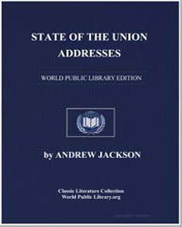 State of the Union Addresses by Jackson, Andrew
