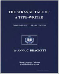 The Strange Tale of a Typewriter by Brackett, Anna C.