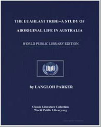 The Euahlayi Tribe : A Study of Aborigin... by Parker, Katie Langloh