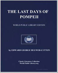 The Last Days of Pompeii by Lytton, Edward George Bulwer