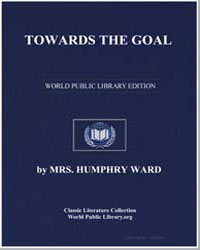 Towards the Goal by Ward, Humphrey, Mrs.