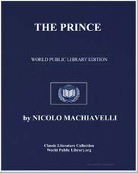 The Prince by Machiavelli, Niccolò