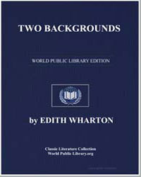 Two Backgrounds by Wharton, Edith