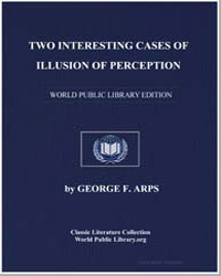 Two Interesting Cases of Illusion of Per... by Arps, George F.