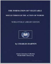 The Formation of Vegetable Mould through... by Darwin, Charles