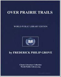 Over Prairie Trails by Grove, Frederick Philip