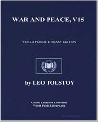 War and Peace, V15 by Tolstoy, Leo Nikoleyevich