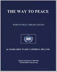 The Way to Peace by Deland, Margaret