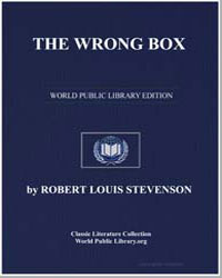 The Wrong Box by Stevenson, Robert Louis